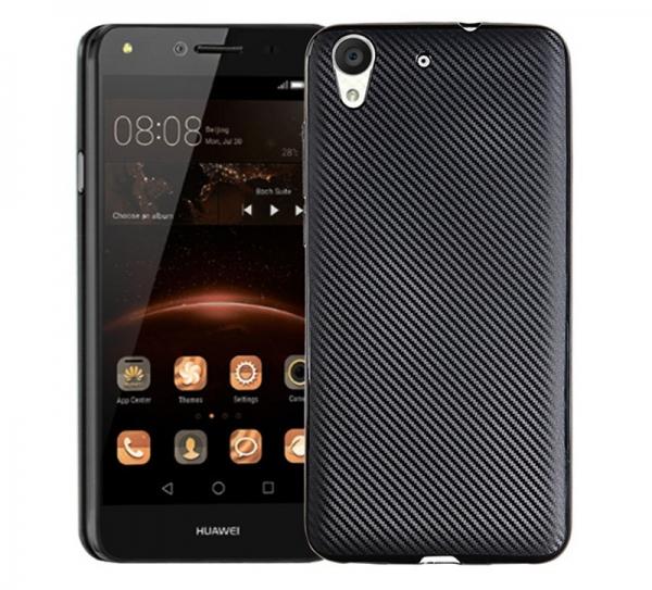 Husa Huawei Y6II i-Zore Carbon, Negru 0