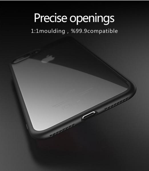 Husa iPaky Slim iPhone 7 Plus, Negru 3