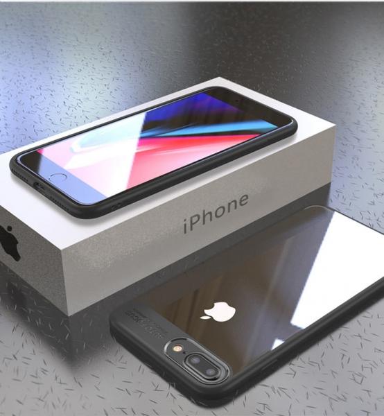 Husa iPaky Slim iPhone 7 Plus, Negru 2