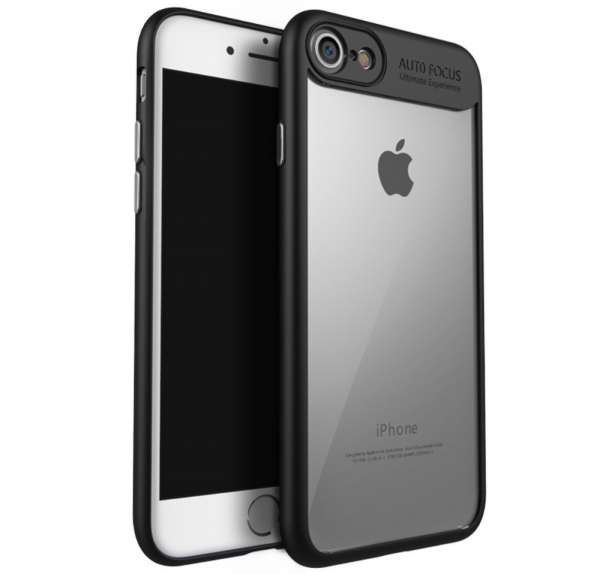 Husa iPaky Slim iPhone 8, Negru 0