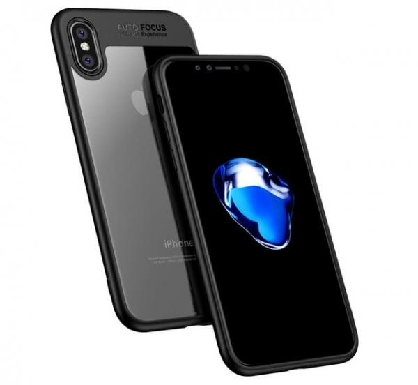 Husa iPaky Slim iPhone X, Negru 1