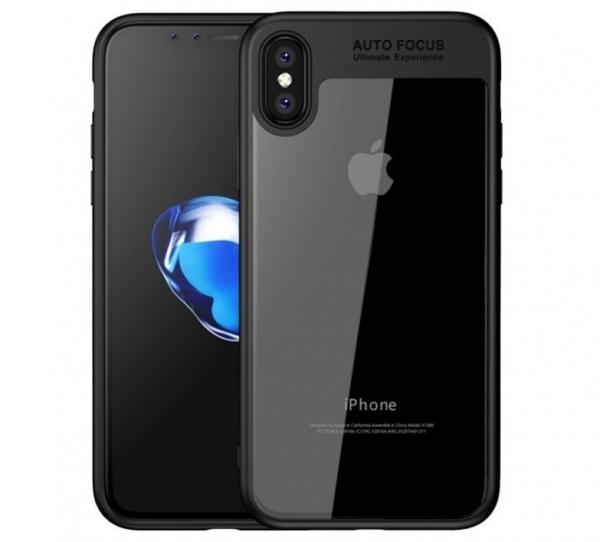 Husa iPaky Slim iPhone X, Negru 0