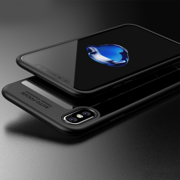Husa iPaky Slim iPhone X, Negru 3