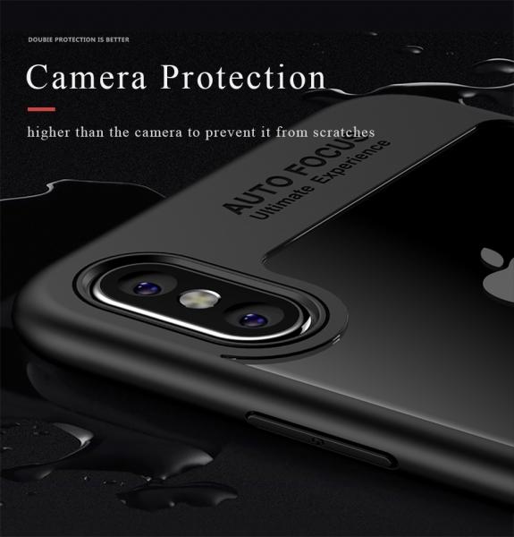 Husa iPaky Slim iPhone X, Negru 4