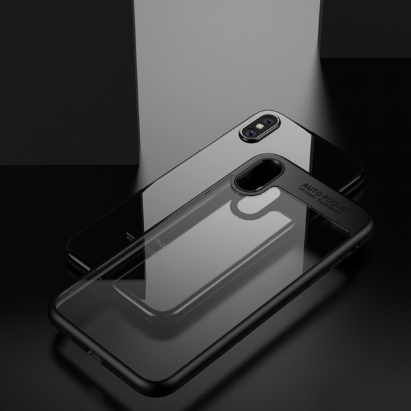 Husa iPaky Slim iPhone X, Negru 2