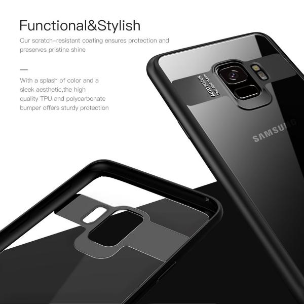Husa iPaky Slim pentru Samsung Galaxy S9, Negru 2