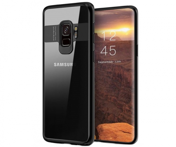 Husa iPaky Slim pentru Samsung Galaxy S9 Plus, Negru 0