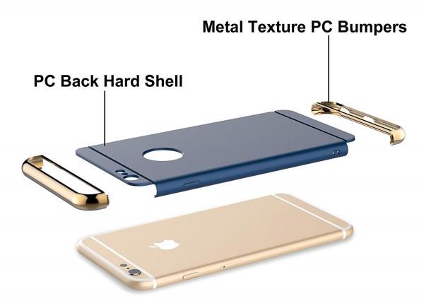 Husa iPhone 6 / 6S Joyroom LingPai Series, Albastru 3