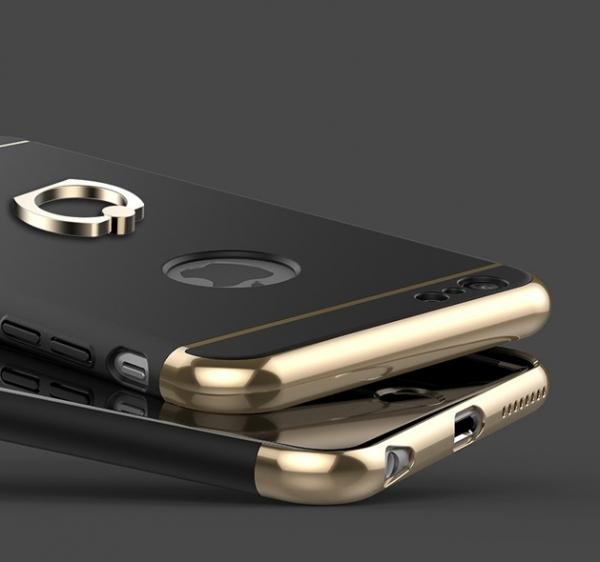 Husa iPhone 6 Plus / 6S Plus Joyroom LingPai Ring, Black 1