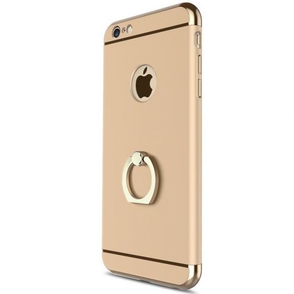 Husa iPhone 6 Plus / 6S Plus Joyroom LingPai Ring, Gold 0