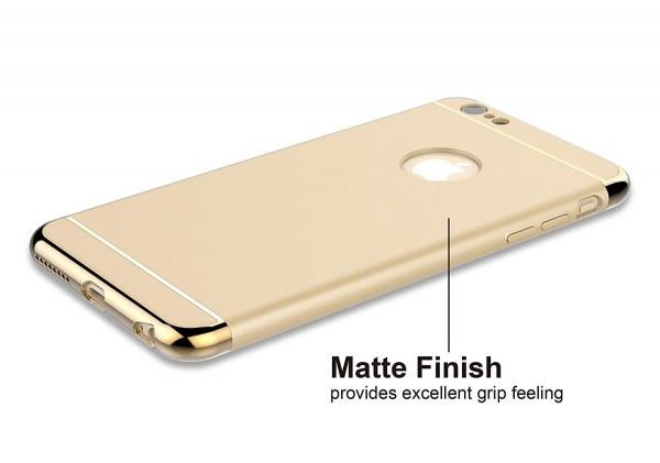 Husa iPhone 6 Plus / 6S Plus Joyroom LingPai Series, Gold 1