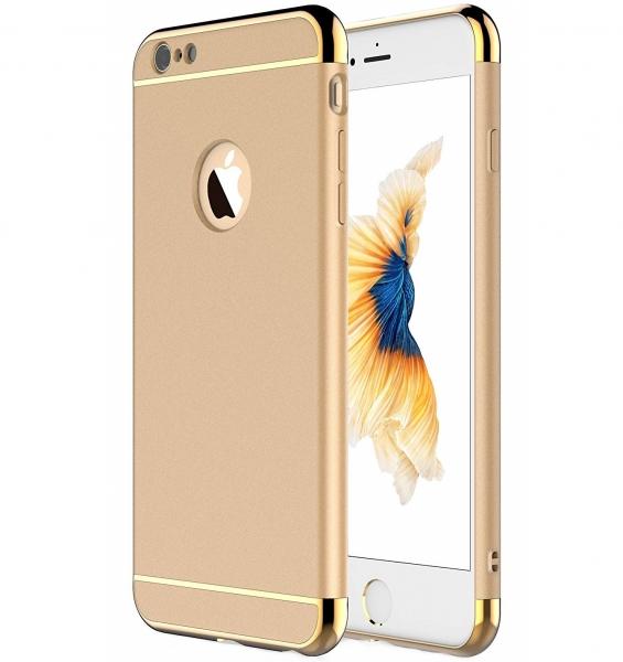 Husa iPhone 6 Plus / 6S Plus Joyroom LingPai Series, Gold 0
