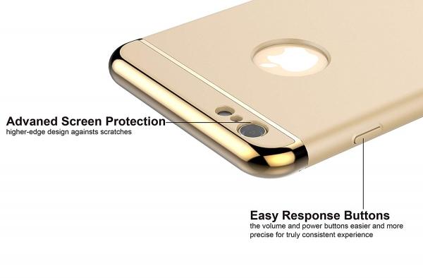Husa iPhone 6 Plus / 6S Plus Joyroom LingPai Series, Gold 2