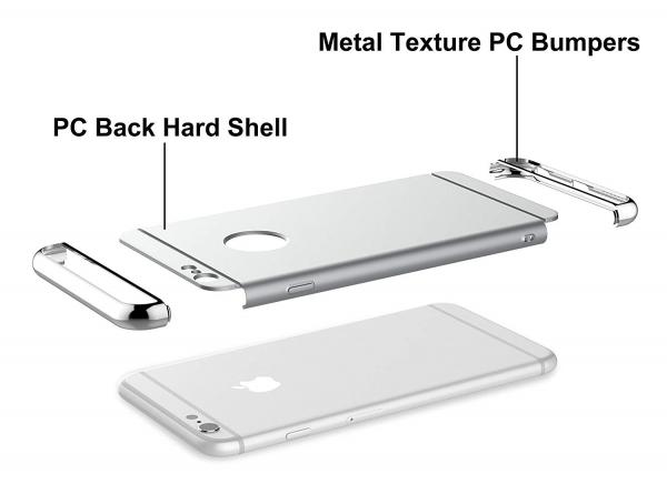 Husa iPhone 6 Plus / 6S Plus Joyroom LingPai Series, Silver 3
