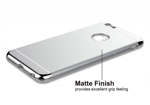 Husa iPhone 6 Plus / 6S Plus Joyroom LingPai Series, Silver 1