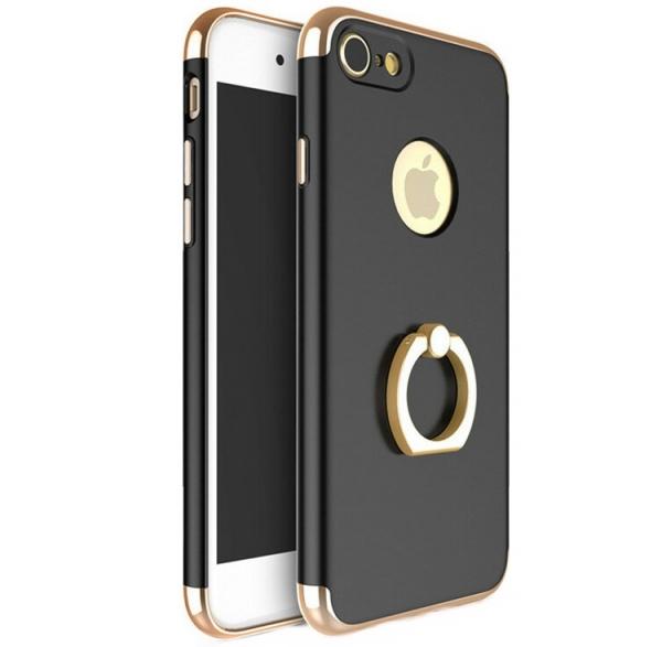 Husa iPhone 7 Joyroom LingPai Ring, Black 0