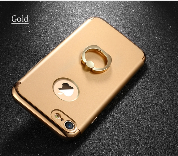 Husa iPhone 7 Joyroom LingPai Ring, Gold 2
