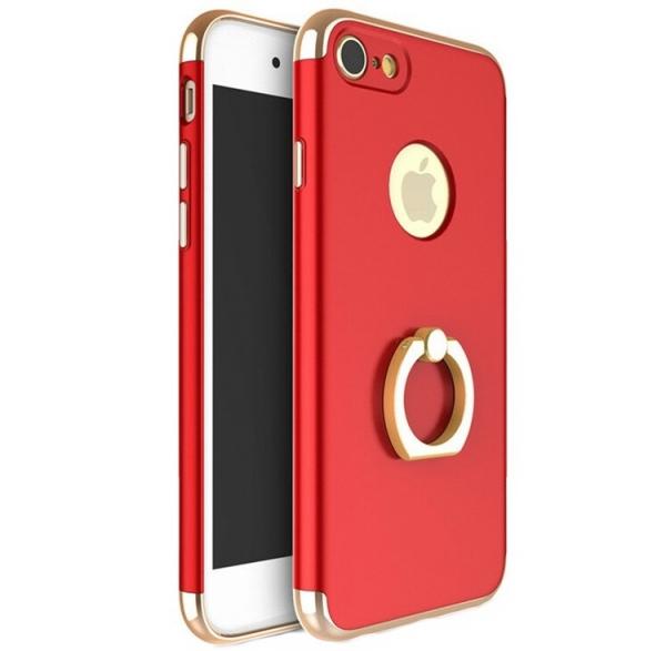 Husa iPhone 7 Joyroom LingPai Ring, Red 0
