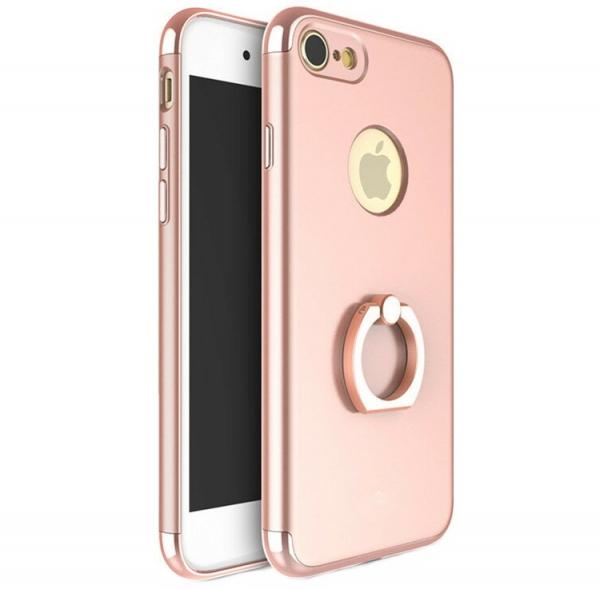 Husa iPhone 7 Joyroom LingPai Ring, Rose Gold 0