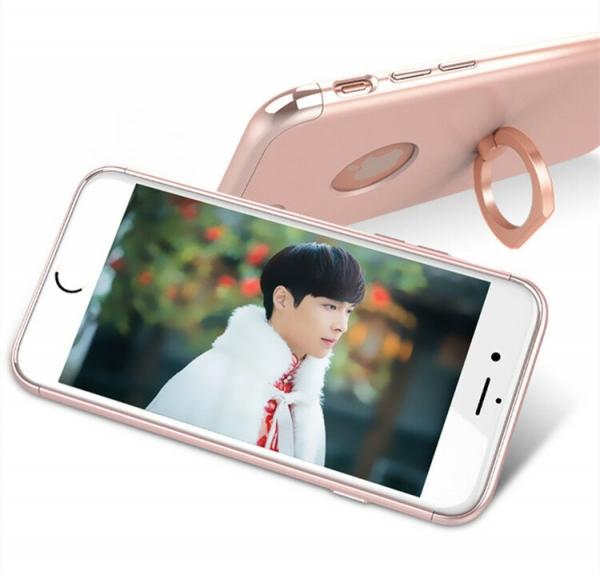 Husa iPhone 7 Joyroom LingPai Ring, Rose Gold 2