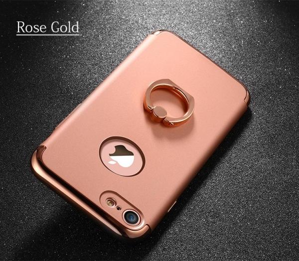 Husa iPhone 7 Joyroom LingPai Ring, Rose Gold 3