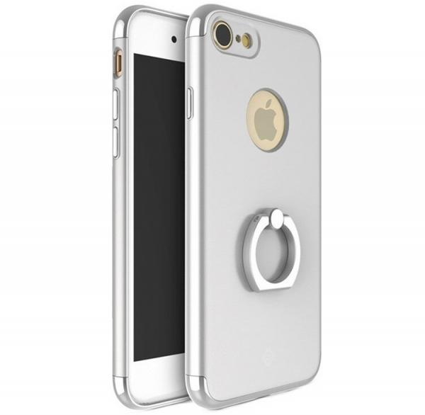 Husa iPhone 7 Joyroom LingPai Ring, Silver 0