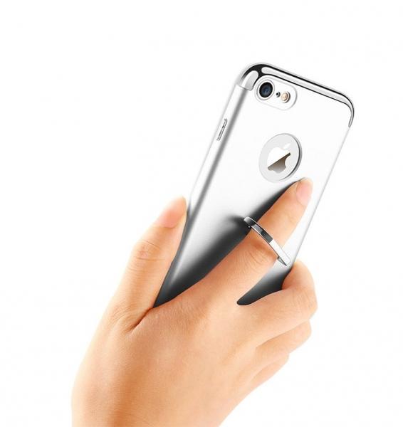 Husa iPhone 7 Joyroom LingPai Ring, Silver 1