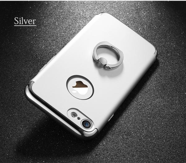 Husa iPhone 7 Joyroom LingPai Ring, Silver 2