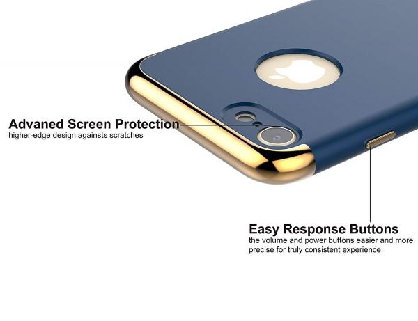 Husa iPhone 7 Joyroom LingPai Series, Albastru 2