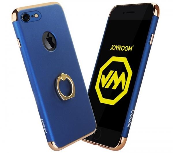Husa iPhone 7 Plus Joyroom LingPai Ring, Albastru [0]