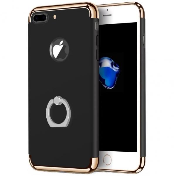 Husa iPhone 7 Plus Joyroom LingPai Ring, Black 0