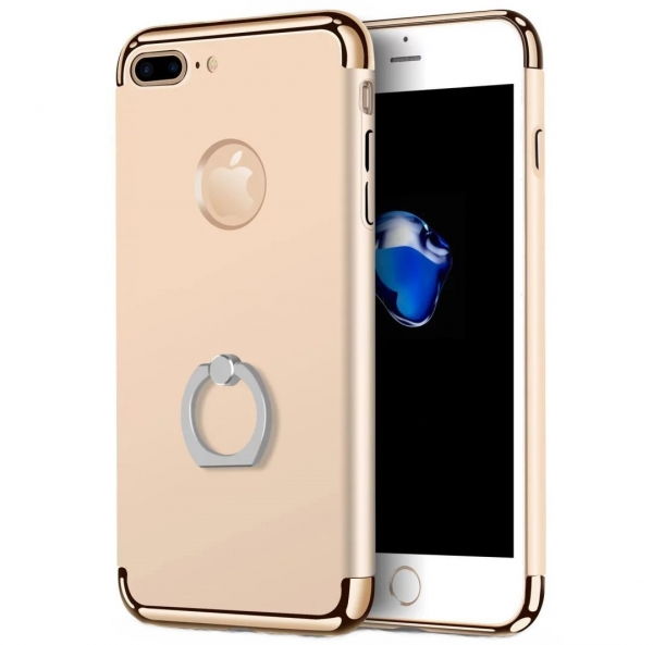 Husa iPhone 7 Plus Joyroom LingPai Ring, Gold 0