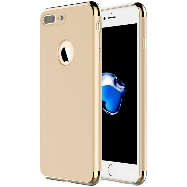 Husa iPhone 7 Plus Joyroom LingPai Series, Gold 0