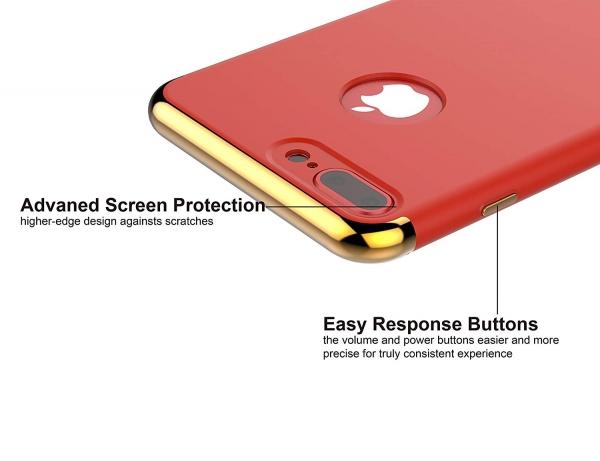 Husa iPhone 7 Plus Joyroom LingPai Series, Red 1