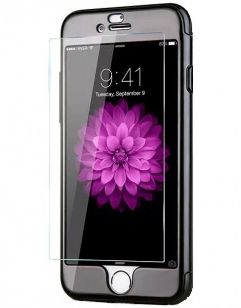 Husa Joyroom 360 + folie sticla iPhone 7, Negru 1
