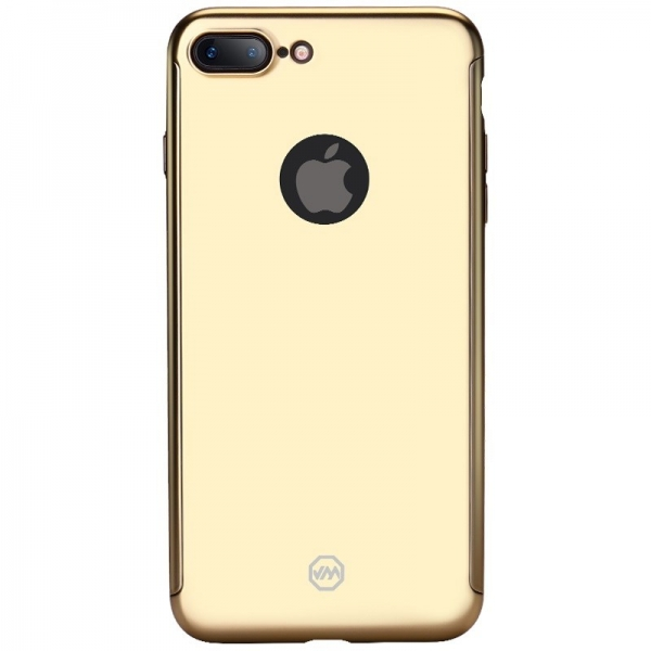 Husa Joyroom 360 + folie sticla iPhone 7 Plus, Gold 1