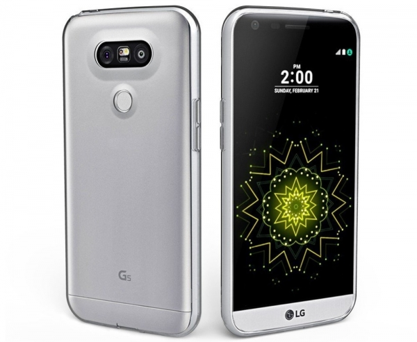 Husa LG G5 TPU Slim, Transparent 1