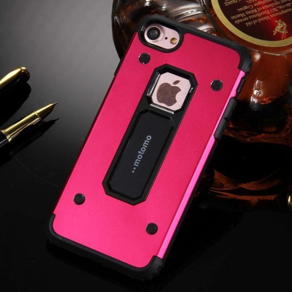 Husa Motomo Armor Hybrid iPhone 6 / 6S, Rosu 2