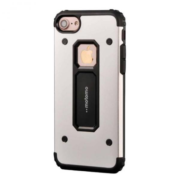 Husa Motomo Armor Hybrid iPhone 6 / 6S, Silver 1