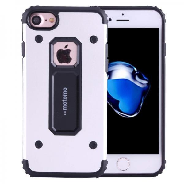 Husa Motomo Armor Hybrid iPhone 6 / 6S, Silver 0