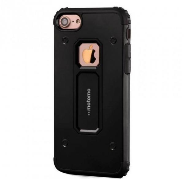 Husa Motomo Armor Hybrid iPhone 7 Plus, Negru [0]
