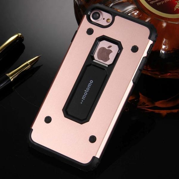 Husa Motomo Armor Hybrid iPhone 7, Rose Gold