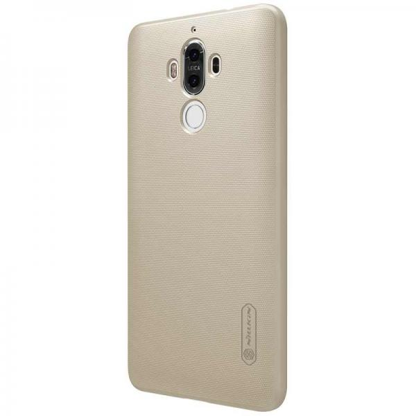 Husa Nillkin Frosted + folie protectie Huawei Mate 9, Gold 2