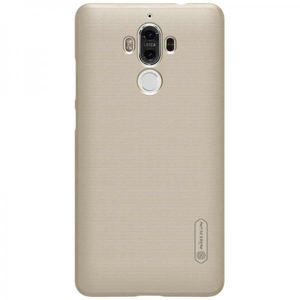 Husa Nillkin Frosted + folie protectie Huawei Mate 9, Gold 1