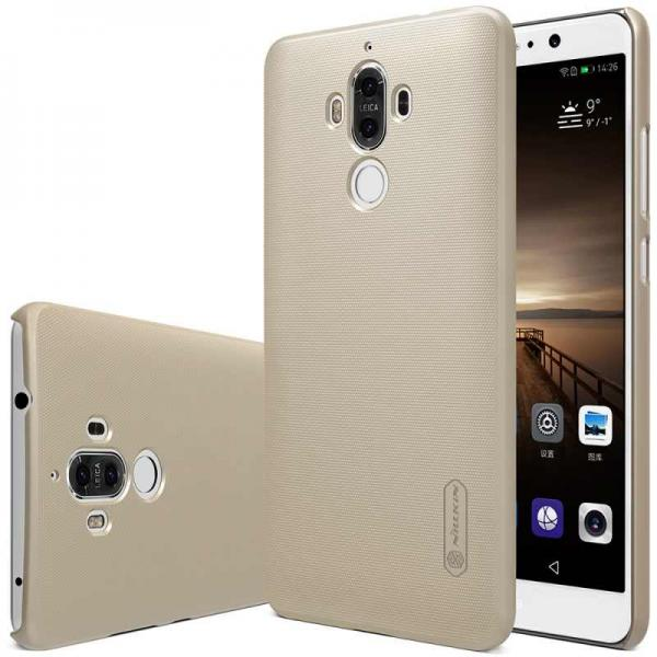 Husa Nillkin Frosted + folie protectie Huawei Mate 9, Gold 0