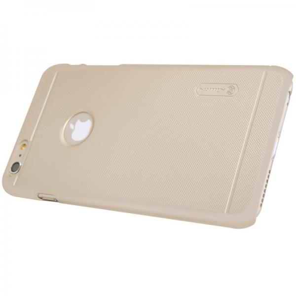 Husa Nillkin Frosted + folie protectie iPhone 6 / 6S, Gold 1