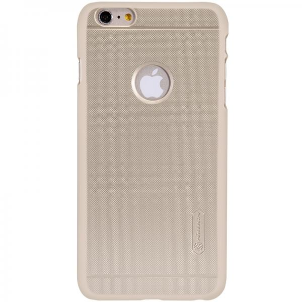 Husa Nillkin Frosted + folie protectie iPhone 6 / 6S, Gold 0