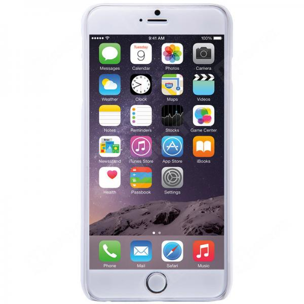 Husa Nillkin Frosted + folie protectie iPhone 6 Plus / 6S Plus, Alb 2