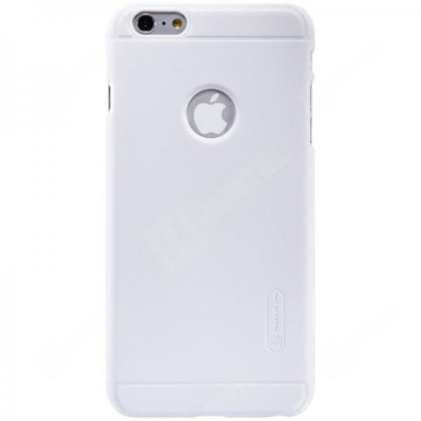 Husa Nillkin Frosted + folie protectie iPhone 6 Plus / 6S Plus, Alb 1