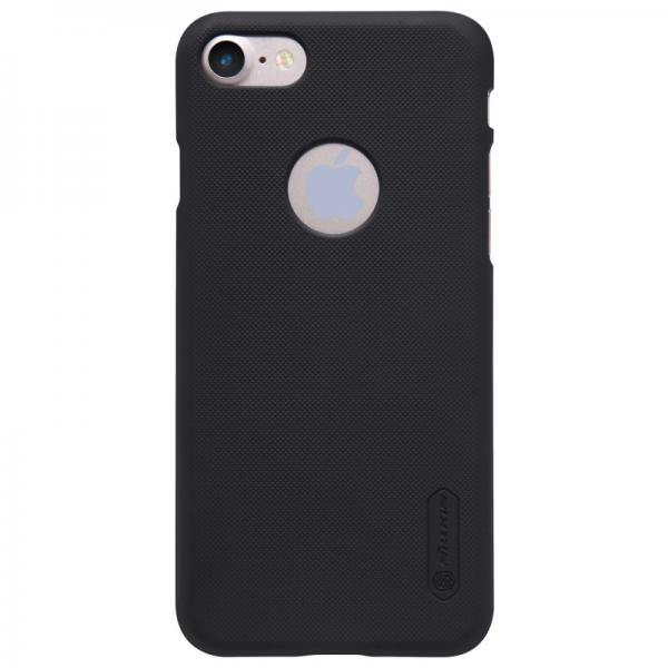 Husa Nillkin Frosted + folie protectie iPhone 7, Negru 1